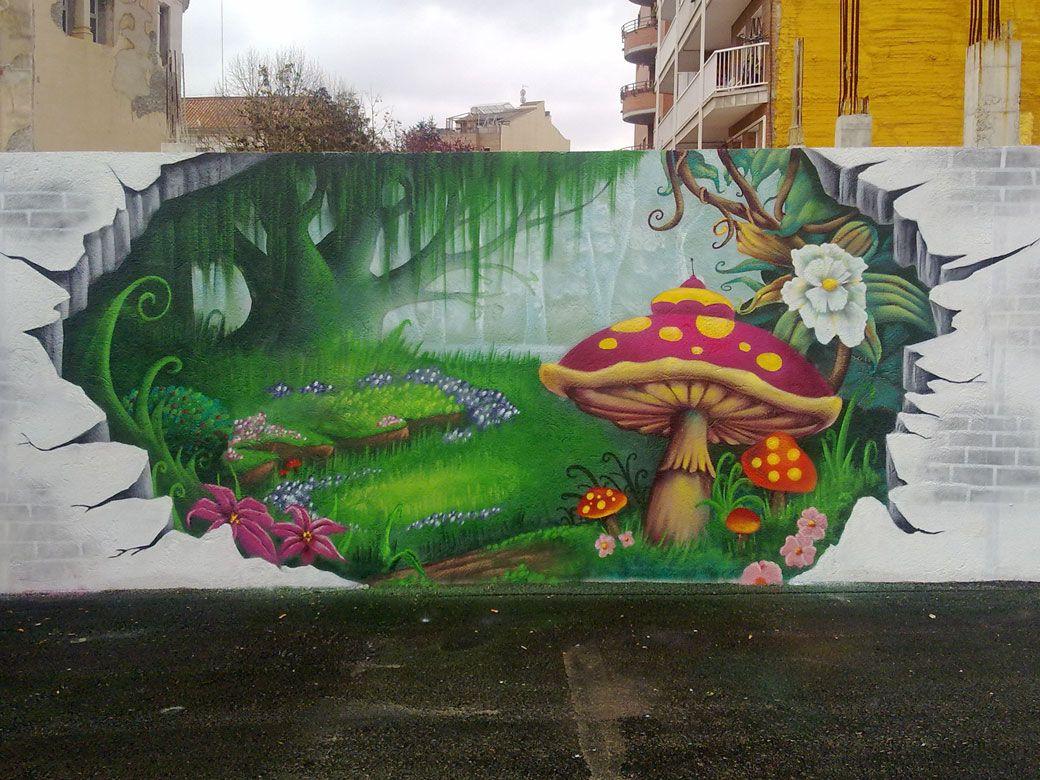 Graffiti Art Color Forma Y Estilo Sanat Duvar Sanati Duvar