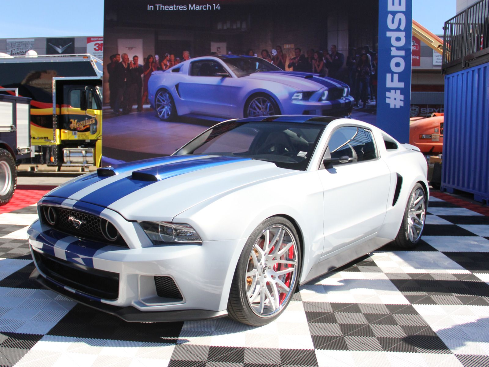 Mustang GT From Need For Speed Movie