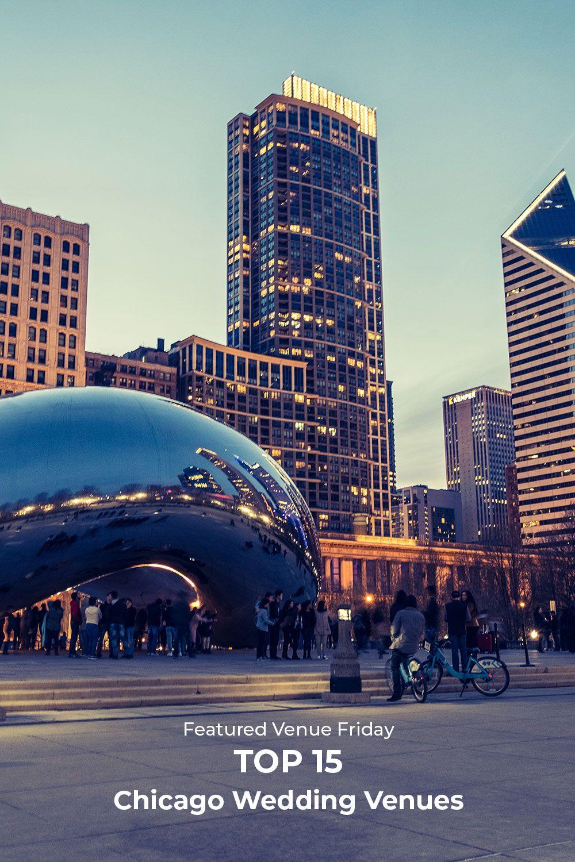 15 Incredible Chicago Wedding Venues Chicago wedding