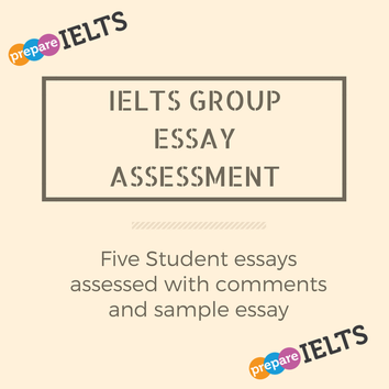 IELTS Essay Assessment   English Write Now!      Ielts writing