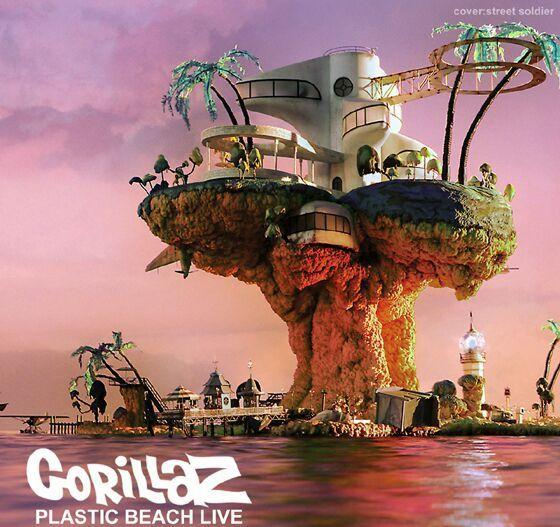 gorillaz plastic beach model