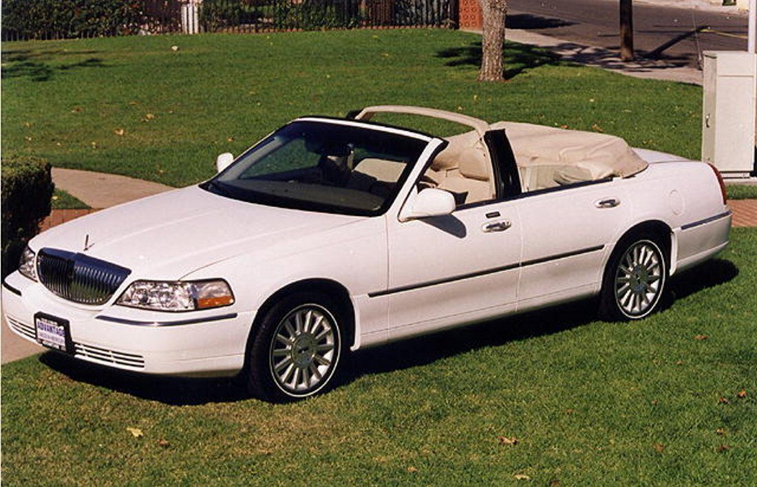 Lincoln Town Car Convertible