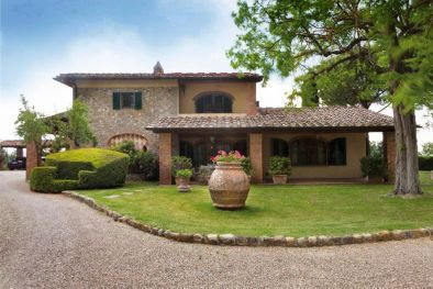Casale con vigneto ed oliveto in vendita san casciano val for Nuove case in stile cottage