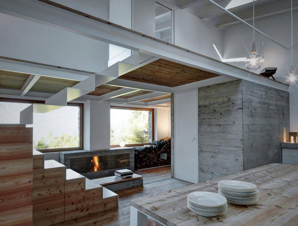 Casas Minimalistas y Modernas casas de hormigon Arquitectura - interiores de casas