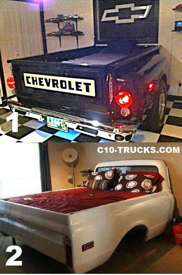 Truck Bed Bedroom: Automotive Furniture, Truck