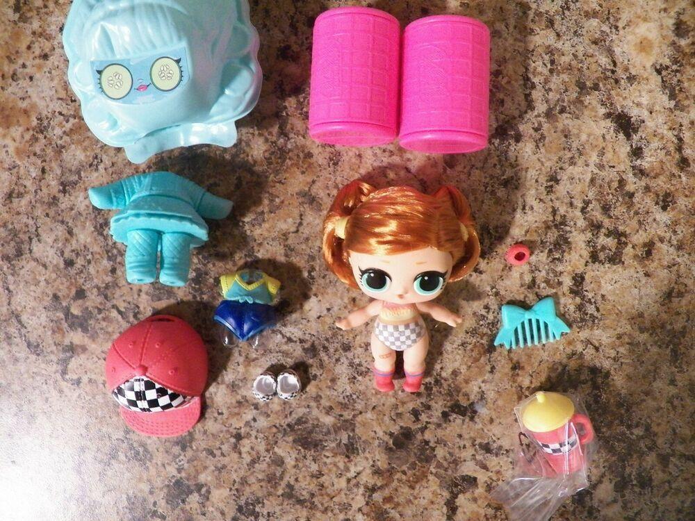 LOL Surprise Sk8er Grrrl Skater Girl #Hairgoals Doll Set COLOR CHANGER NEW