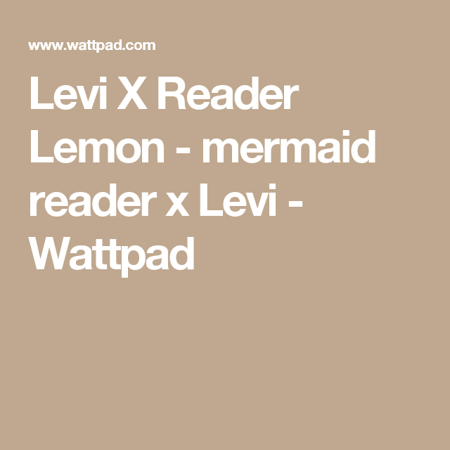 Merman X Reader Lemon
