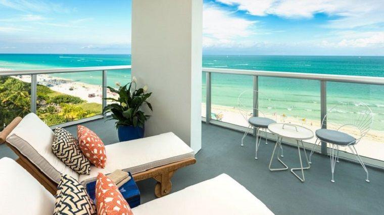 Ringhiere per balconi vetro arredo moderno terrazzo in