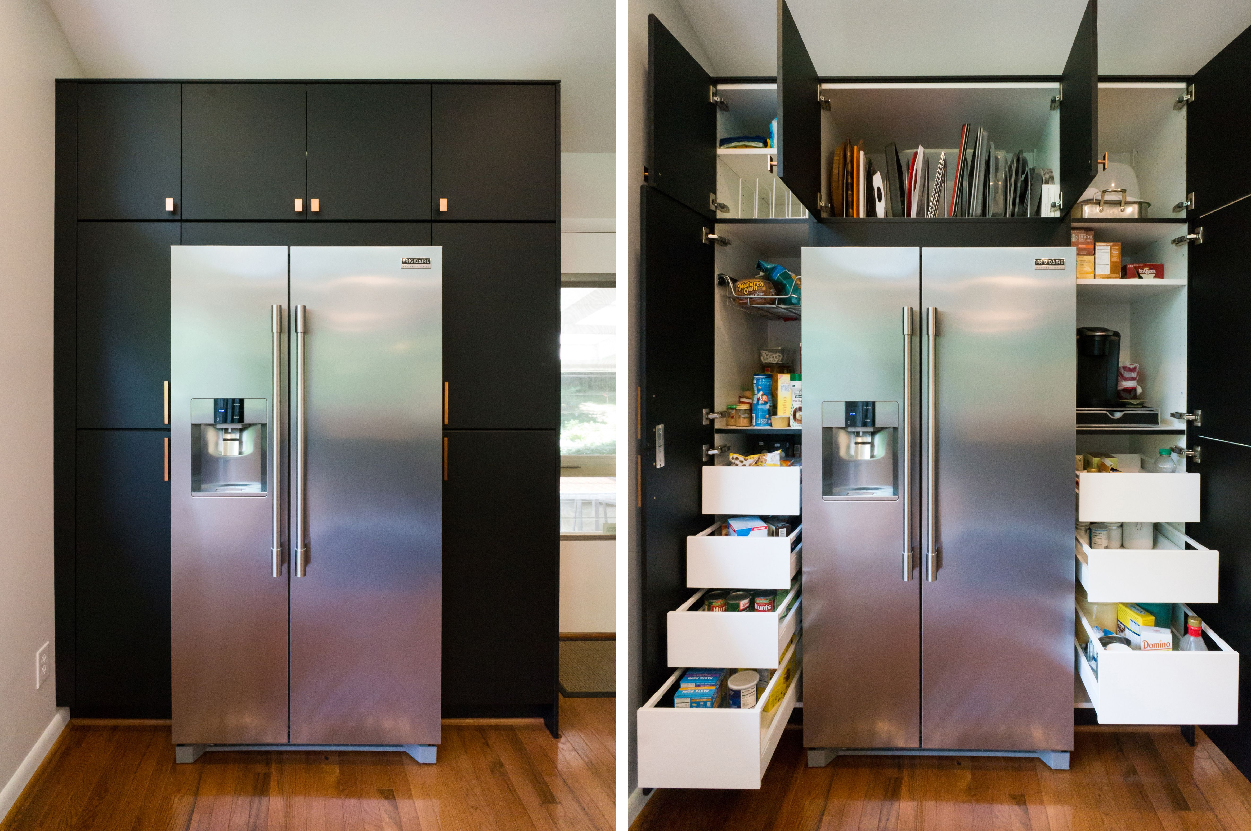 Modern Ikea Kitchen With Clean Lines And Smart Storage Waterfall