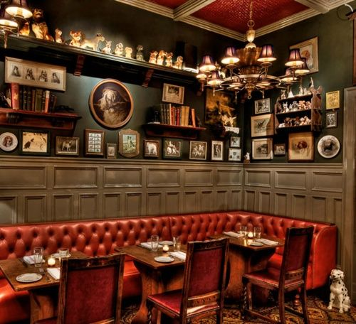 image result for red and gray pub interiors - Gray Restaurant Decorating