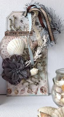 Riddersholm Design: Beachy Tag and Card Set using the Newport Collection by Cathi
