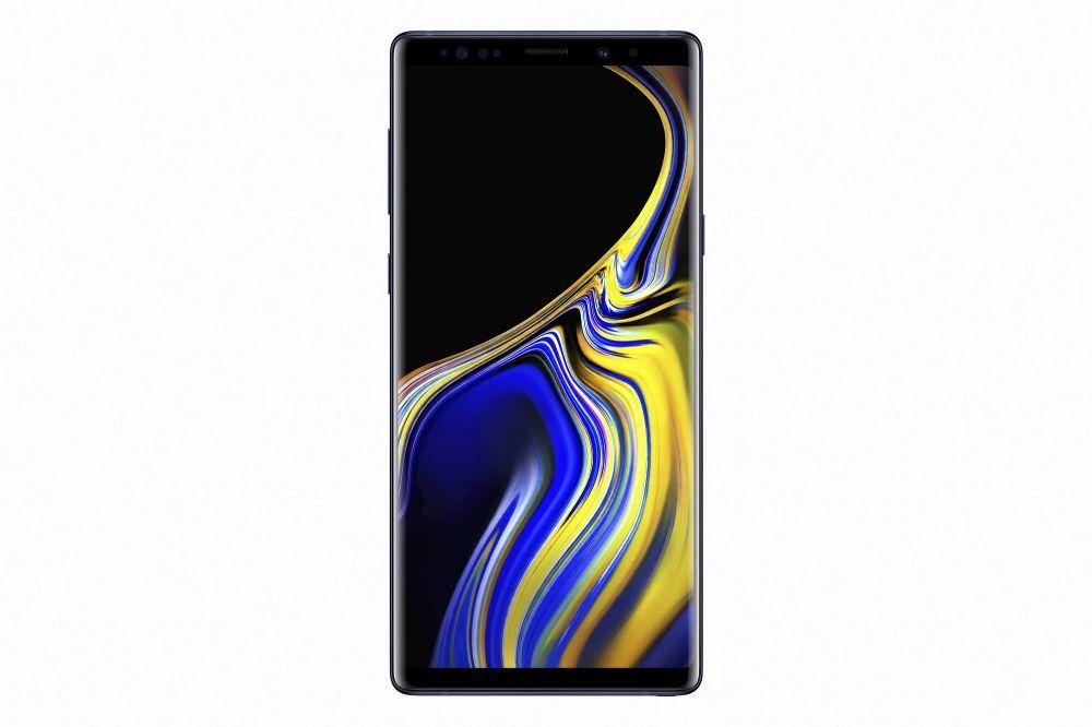 سامسونج جالكسي نوت 9 بشريحتي اتصال 128 جيجا 6 جيجا رام الجيل الرابع ال تي اي ازرق Samsung Galaxy Note 9 Dual Sim 128gb 6g Samsung Galaxy Samsung Galaxy