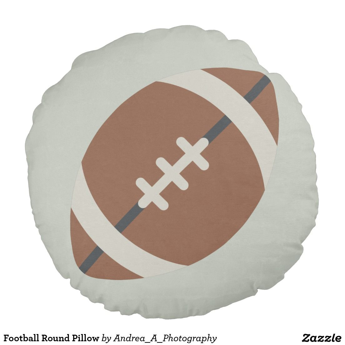 Football Round Pillow