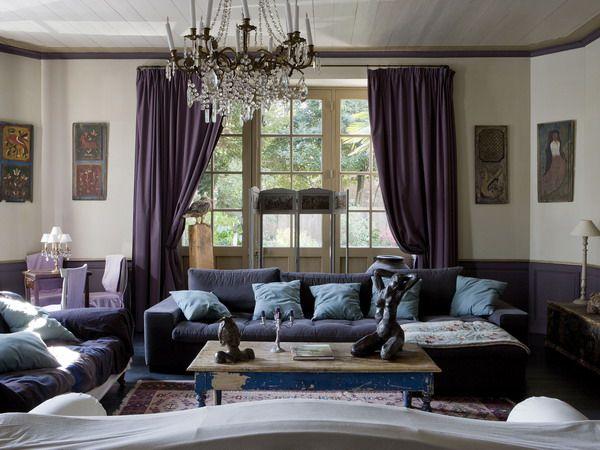 purple living room decor с изображениями  Идеи