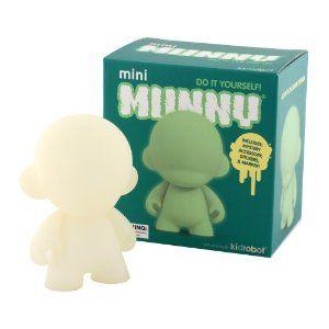 Kidrobot Munny Series 4 Diy Vinyl Art Figure