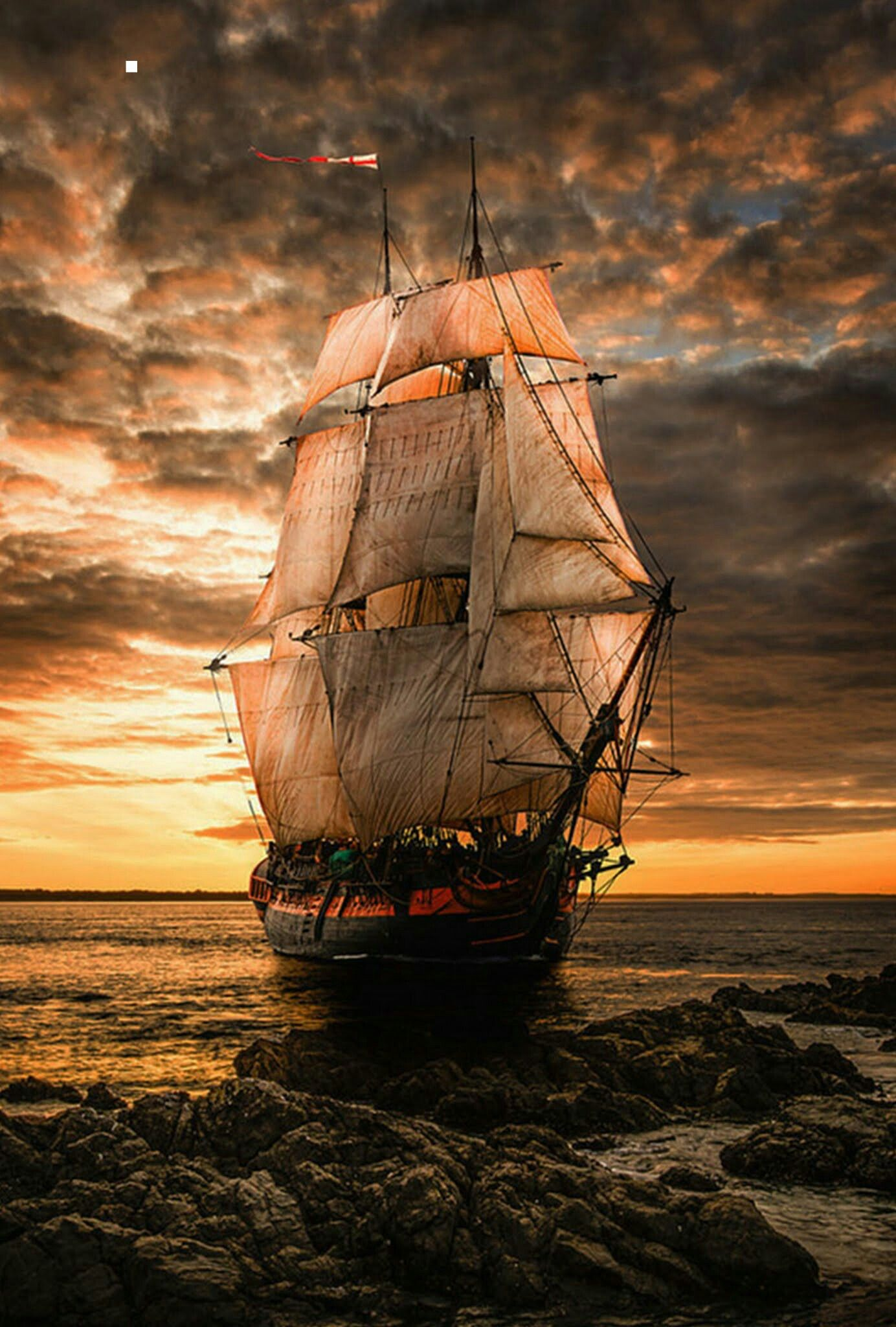 Pingl par lana blankenship sur old pirate ships - Voile bateau pirate ...