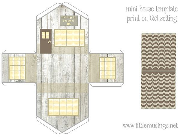 image regarding Printable Christmas Village Template identified as Minimal Room templates. Absolutely free printables. Crafts Paper