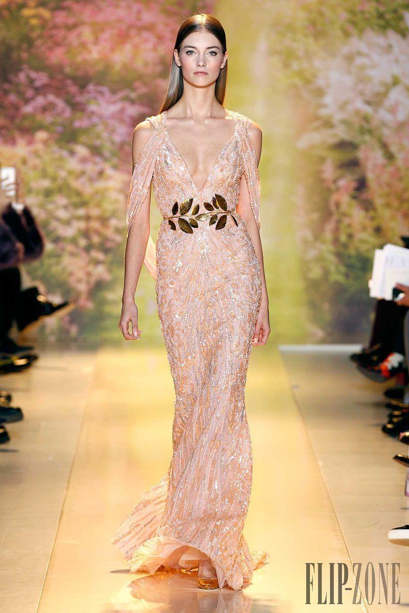 Zuhair murad nina dobrev spring couture red carpet wishlist