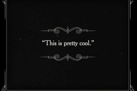 Silent Movies Gone Google Browser Lets Users Diy Title Cards Silent Movie Title Card Silent Film