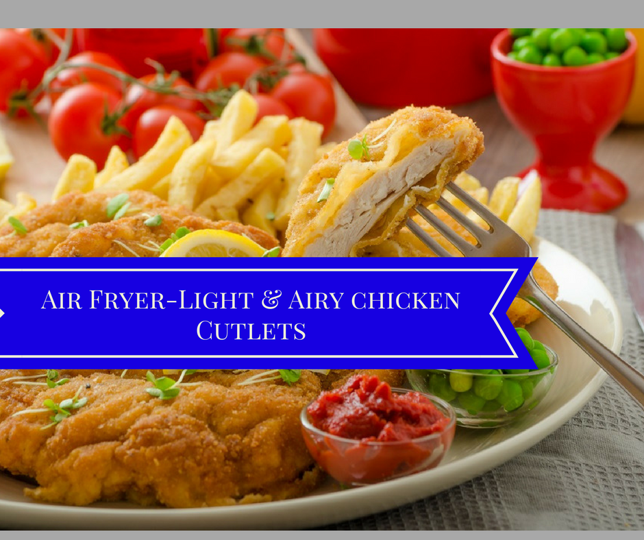 Air Fryer, Light and Airy Breaded Chicken Recipe