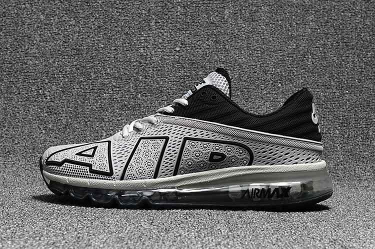 daaad1962502 Nike Air Max 2017.9 Flair Large Air Design Gray Black Men Shoes ...