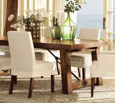 Benchwright Extending Dining Table Alfresco Brown Dining Room