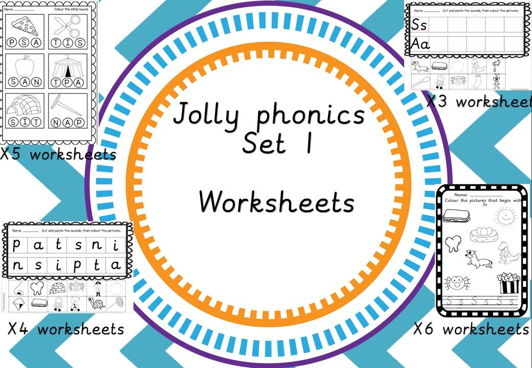 Jolly Phonics Worksheets  Phonics Worksheets And Color Activities