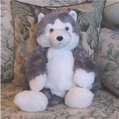 Huge Stuffed Animals | Plush Animal Backpacks - IDITAROD Plush Husky ...