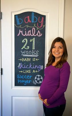 Good blog- and I love that she's showing so much at 20 wks. I'm tired of  ppl asking if I'm having twins!