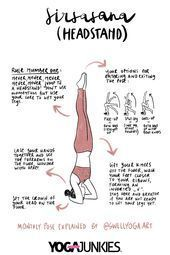 How to Do a Headstand | Sirsasana  Follow these instructions to learn how to do ...  #follow #headst...