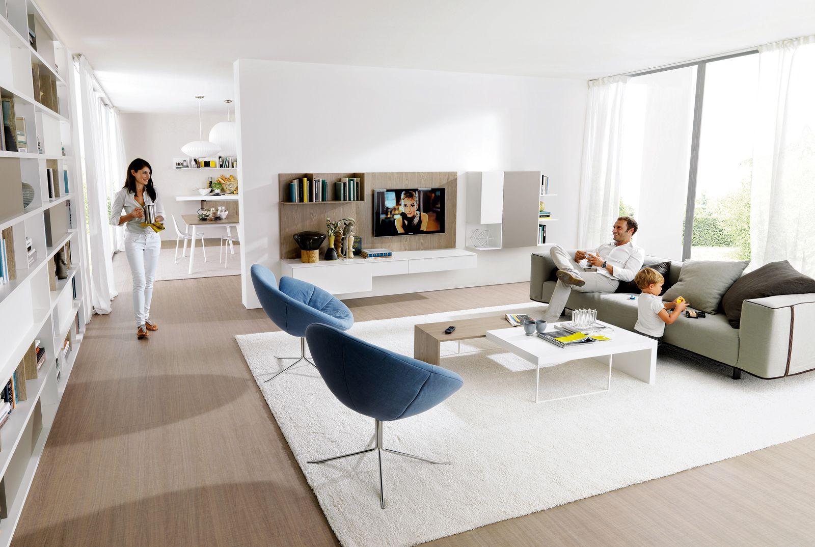 Soluzioni per la casa: il soggiorno sembra più grande | Tv stands ...