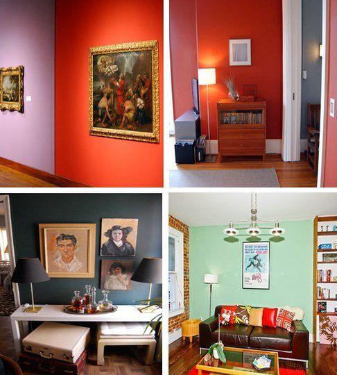 Color Dilemna Do Bright Walls Hurt Or Highlight Artwork