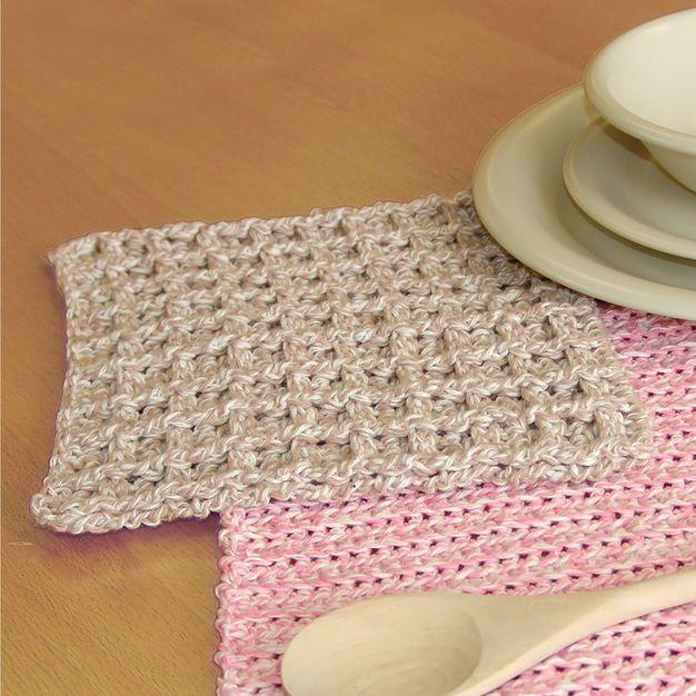 Bernat Dishcloth | Dishcloth crochet pattern, Crochet ...