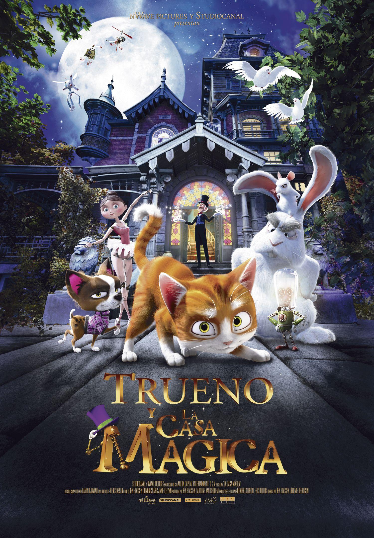 Trueno y La Casa Mágica - Delta Films / 5 de marzo