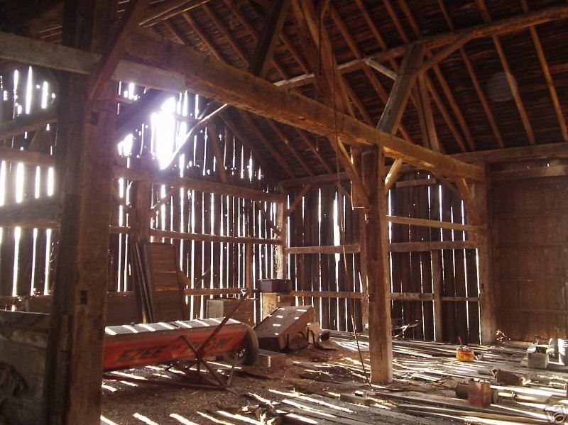 Interior Of A Barn Inside The Old Barn Wizard Of Oz