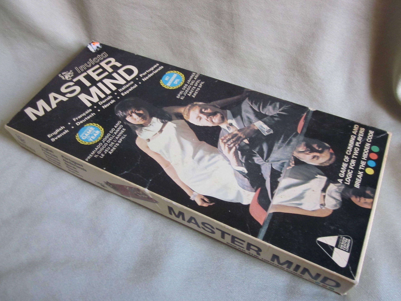 Invicta Master Mind Game Vintage Complete Set Mind