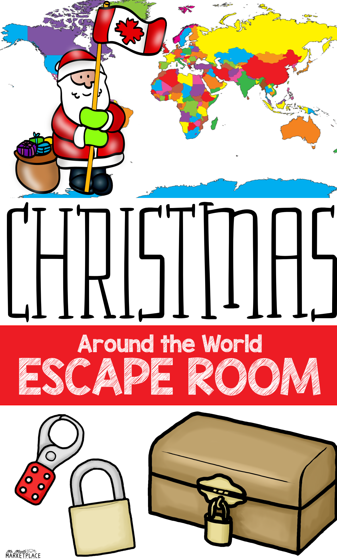 Saving Christmas Escape Room A Christmas Around The World