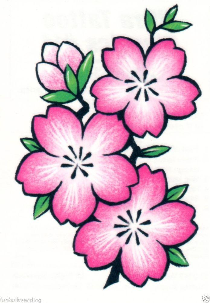 Простые картинки цветов для срисовки цветные