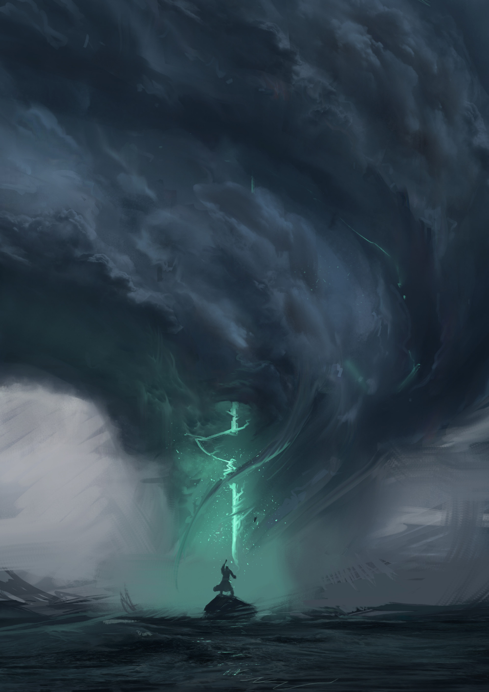 ArtStation Storm , Oliver Mootoo (With images) Fantasy