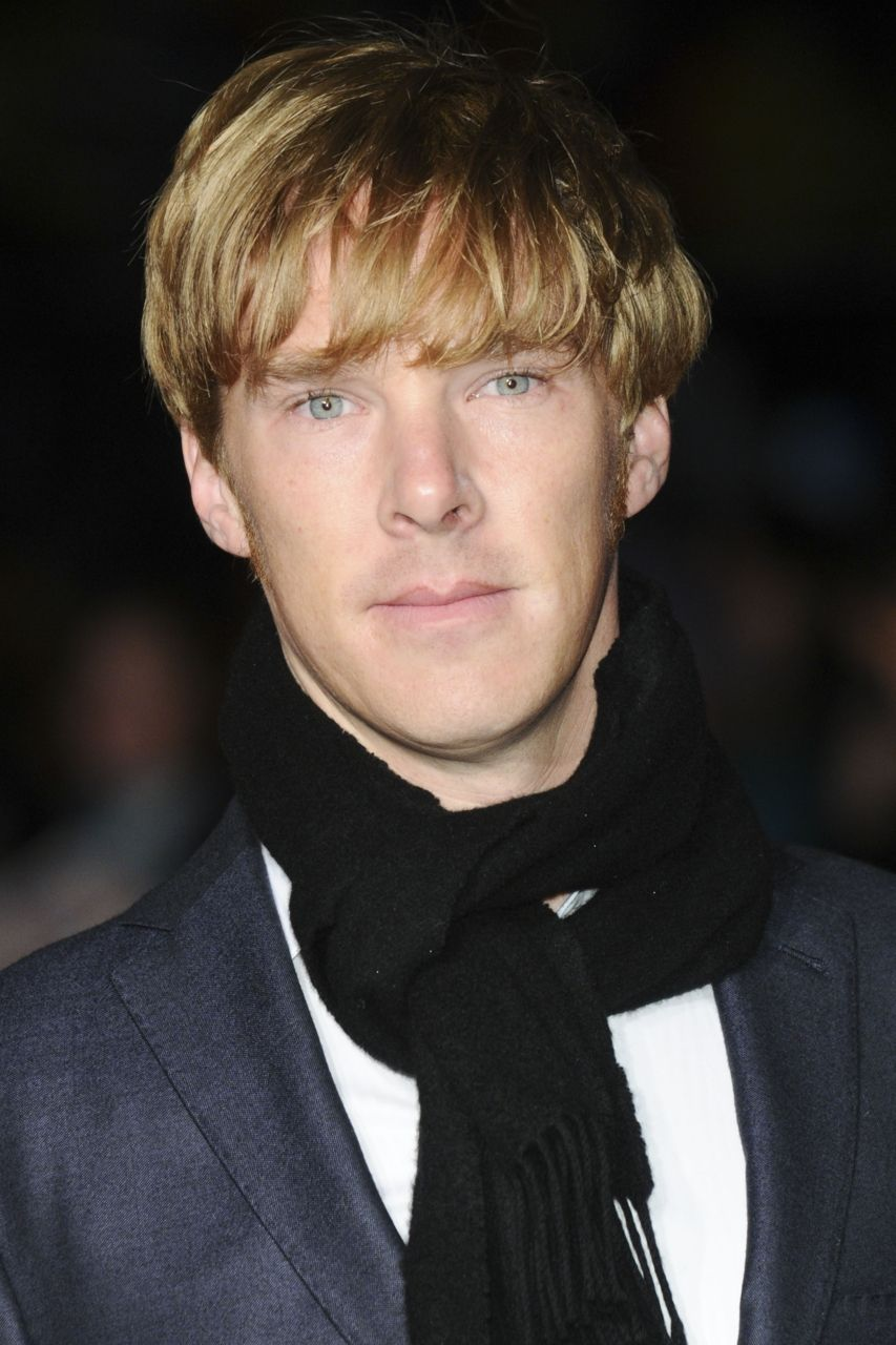Benedict Cumberbatch With His Tinker Tailor Blonde Hairt Mad