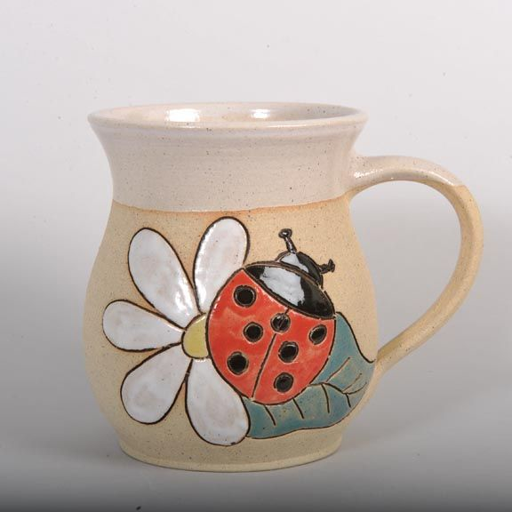 Mug 300 ml ladybird fat