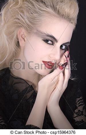 Frisur Vampir