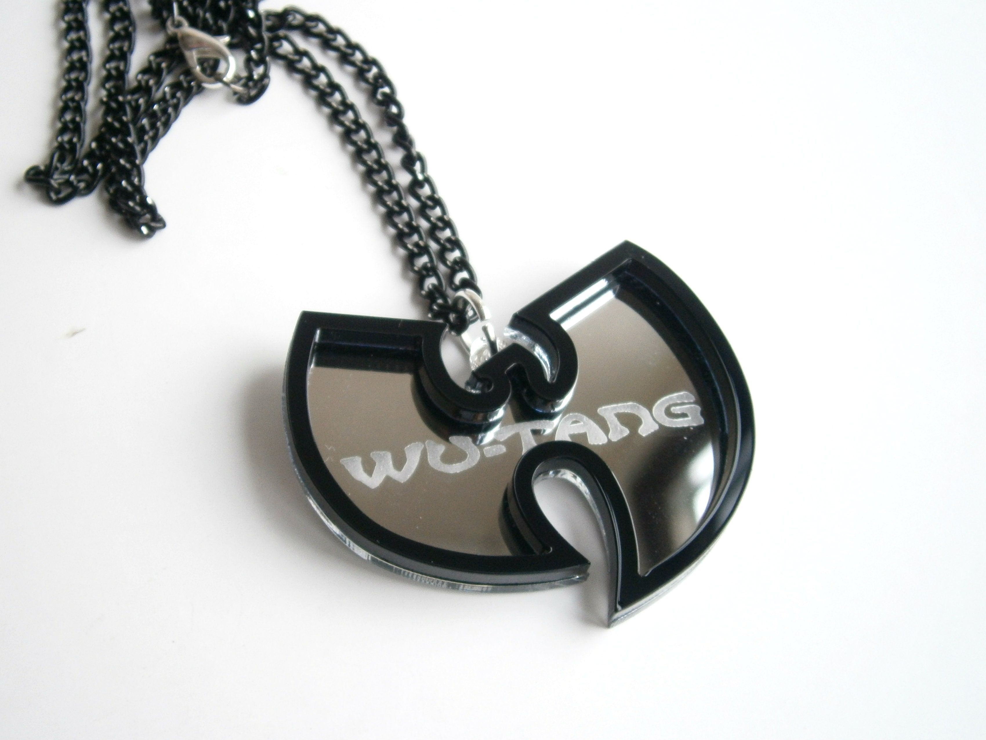 Hip hop pendant laser cut and engraved wu tang necklace fashion hip hop pendant laser cut and engraved wu tang necklace aloadofball Images