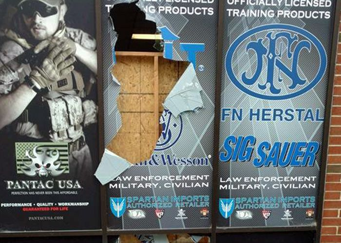 Thieves Break Into GI Tactical Store