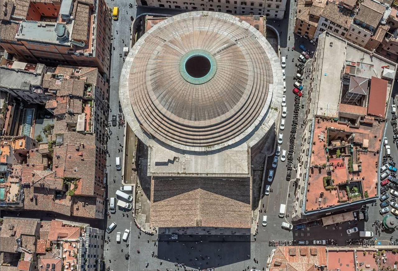 Pin By Harmony Dal Cielo On Pubg: The Pantheon, Seen From Above. Una Anteprima Delle