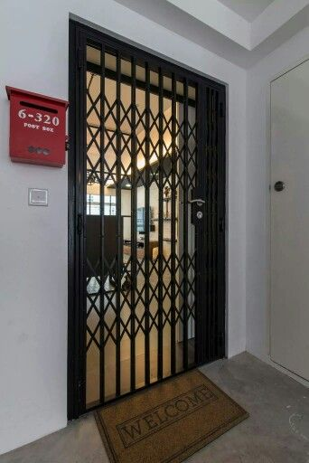 Grill Gate Home Interiors In 2019 Grill Door Design