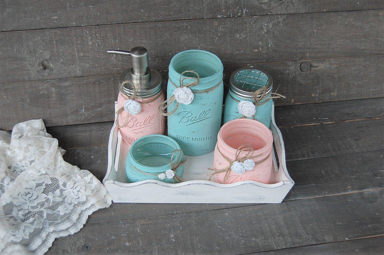 Photo of Bathroom set & tray