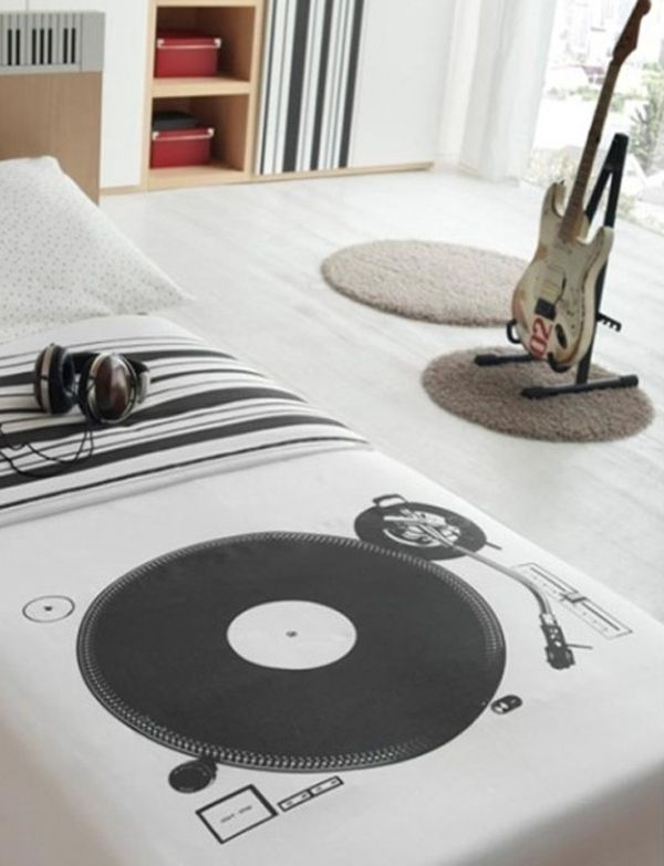 Want To Have Music Bedroom Theme, Maybe Youu0027re A Teenage And Music Lovers,  Of Course You Will Understand True Attractiveness Has A Bedroom With Musical  ...