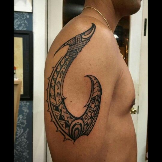 Maori Fish Tattoo: Pin On Tatau