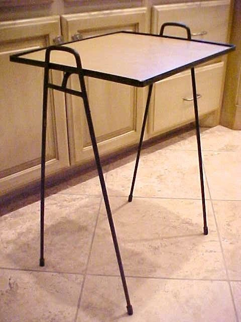 Salterini Nesting Tables | Vintage Wrought Iron Patio Furniture ...